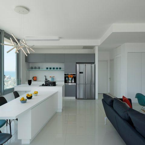 דירה מודרנית במגדלי דיזינגוף פרישמן
